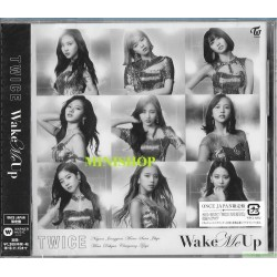 TWICE JAPAN 3rd SINGLE『Wake Me Up』《ONCE JAPAN限定盤》