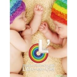 L'Arc~en~Ciel 25th L'Anniversary LIVE [初回生産限定版, 2Blu-ray]
