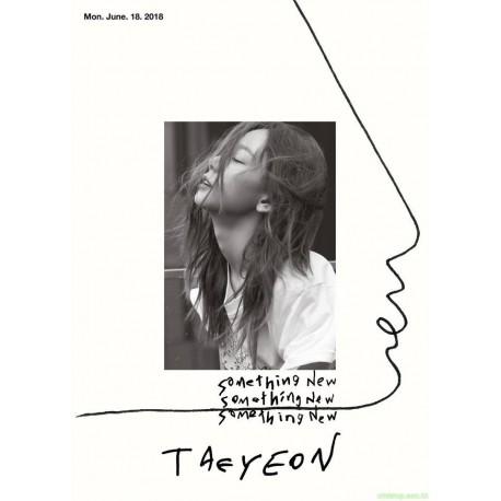 TAEYEON - SOMETHING NEW (3ND MINI ALBUM)