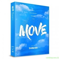 SHINHWA 19TH ANNIVERSARY SUMMER LIVE [MOVE] DVD
