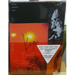 [預購簽名版]林宥嘉 THE GREAT YOGA演唱會 DVD (首批限量精裝版)