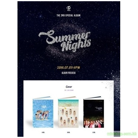 TWICE 트와이스 - SUMMER NIGHTS (2ND SPECIAL ALBUM)