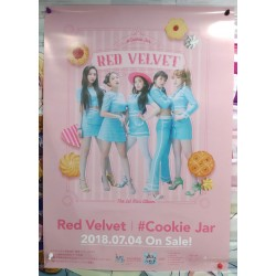 Red Velvet 「Cookie Jar」店頭海報