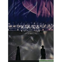 [台壓版]KinKi Kids CONCERT 20.2.21 -Everything happens for a reason-  DVD