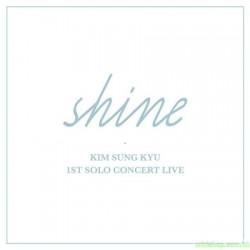 KIM SUNG KYU - 1ST SOLO CONCERT LIVE [SHINE] (2CD)
