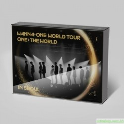 WANNA ONE - WANNA ONE WORLD TOUR 3DVD 韓版