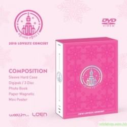 LOVELYZ - 2018 LOVELYZ CONCERT  2DVD  韓版