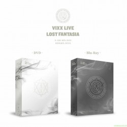VIXX LIVE LOST FANTASIA DVD & Blu-ray