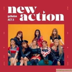 GUGUDAN - ACT.5 NEW ACTION (3RD MINI ALBUM)韓版