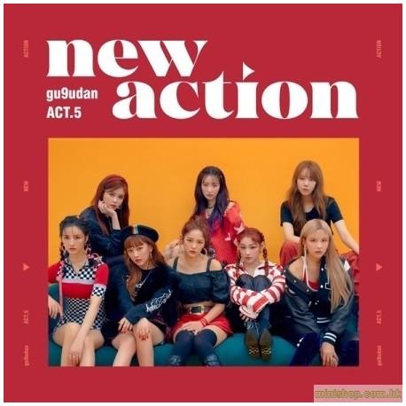 GUGUDAN - ACT.5 NEW ACTION (3RD MINI ALBUM)韓版