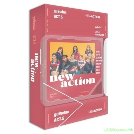 GUGUDAN - ACT.5 NEW ACTION (3RD MINI ALBUM)(Kihno Album)(智能卡)
