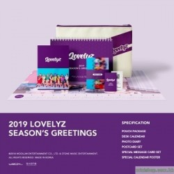 LOVELYZ - 2019 SEASON'S GREETINGS 韓版