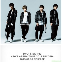 NEWS ARENA TOUR 2018 EPCOTIA DVD/Blu-ray 日版