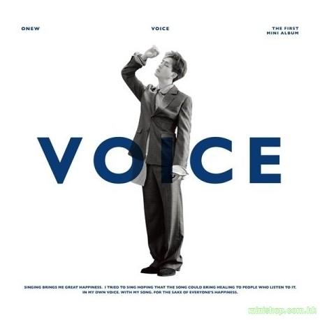 溫流 ONEW - VOICE (1ST MINI ALBUM)