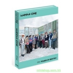 WANNA ONE 11 (POWER OF DESTINY) 台灣獨占贈品盤 - Romance版