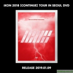IKON 2018 [CONTINUE] TOUR IN SEOUL 3DVD 韓版