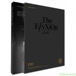 EXO - EXO PLANET 4 -THE EℓYXION[DOT] PHOTOBOOK & LIVE ALBUM 2CD韓版
