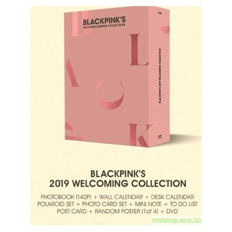 BLACKPINK - BLACKPINK'S 2019 WELCOMING COLLECTION