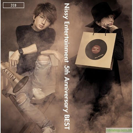 Nissy (西島隆弘、AAA) Entertainment 5th Anniversary BEST [通常盤, 2CD]