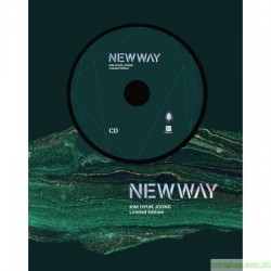 金賢重 KIM HYUN JOONG - NEW WAY (CD + DVD)