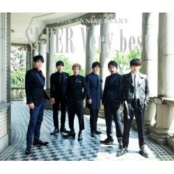 V6 SUPER Very best 【台壓版初回限定盤C】(3CD)