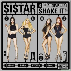 SISTAR 第三張迷你專輯 SHAKE IT 台灣首發豪華盤