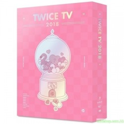 TWICE - TWICE TV 2018 DVD (4 DISC)