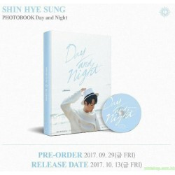 신혜성 - SHIN HYE SUNG PHOTOBOOK [DAY AND NIGHT]