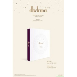 Blu-ray + DVD IU 10th Anniv. Tour Concert [dlwlrma] Photobook  Special Blu-ray & DVD