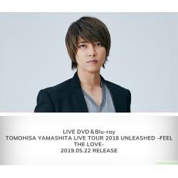 山下智久 TOMOHISA YAMASHITA LIVE TOUR 2018 UNLEASHED -FEEL THE LOVE- DVD&Blu-ray「