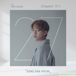 "JUNG DAE HYUN 大賢- CHAPTER2 ""27"" (1ST MINI ALBUM)"
