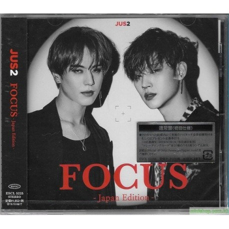 Jus2 FOCUS -Japan Edition- [通常盤, CD ONLY]