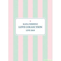 西野カナ 西野加奈 Kana Nishino Love Collection Live 2019 [完全生産限定版3DVD]