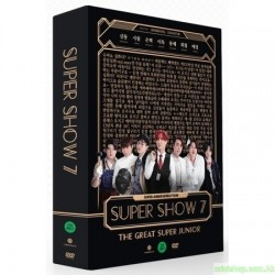 SUPERJUNIOR - SUPER SHOW 7 DVD 韓版