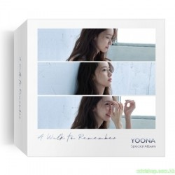 YOONA - A Walk to Remember  KIHNO ALBUM 智能卡