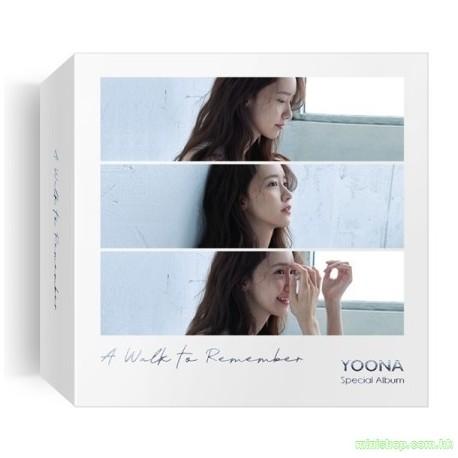 YOONA - A Walk to Remember  KIHNO ALBUM 智能卡