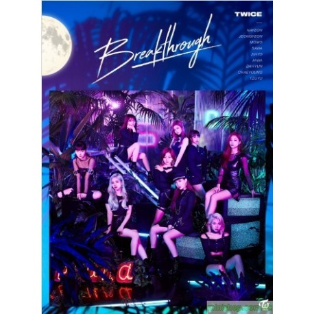 TWICE 「Breakthrough」(初回限定盤A)