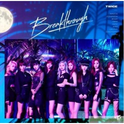 TWICE 「Breakthrough」(通常盤)