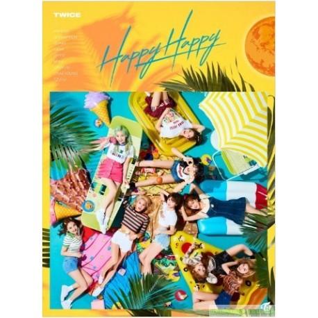 TWICE 「HAPPY HAPPY」(初回限定盤A)