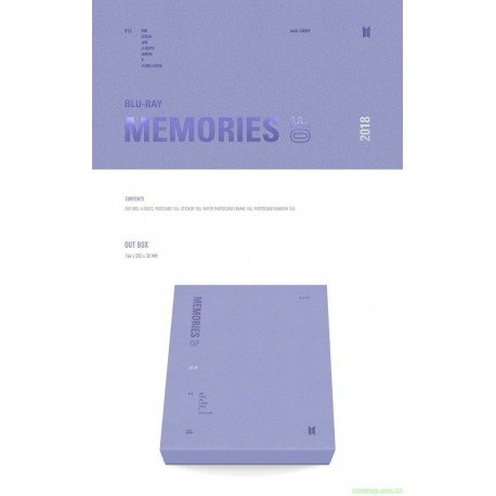 [代購]BTS MEMORIES OF 2018 BLU-RAY 日版
