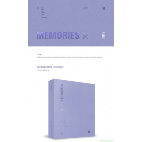 [代購]BTS MEMORIES OF 2018 BLU-RAY 日版