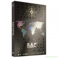 B.A.P 2ND ADVENTURE : 30,000 MILES ON EARTH (2 DVD)