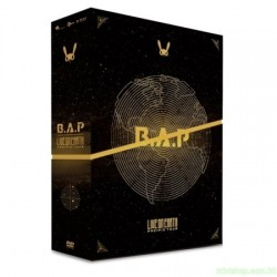 B.A.P LIVE ON EARTH PACIFIC [3DVD +Photobook (100p)]