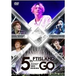 "FTISLAND  5th Anniversary Arena Tour 2015 ""5.....GO"" (DVD)"