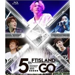 "FTISLAND 5th Anniversary Arena Tour 2015 ""5.....GO"" (Blu-ray)"