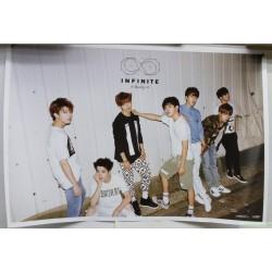 [海報]Infinite - Mini Album Vol.5 [Reality] 韓版[海報] POSTER