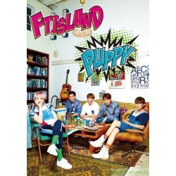 FTISLAND 最新日文單曲專輯 PUPPY 台灣獨占超豪華版