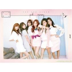 Apink Pink MEMORY  (White Version) 台灣獨家小卡盤