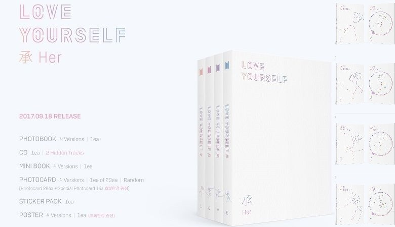 BTS - LOVE YOURSELF 承 'HER'